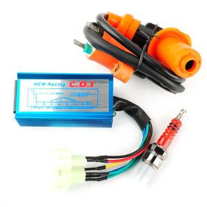 High Quality Racing Ignition Coil+Spark Plug+AC CDI For GY6 50cc 125cc 150cc