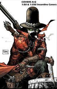 Image GUNSLINGER SPAWN #1 Cover A/B/C/D/E/F/G 1:50 1:250 Signed Comic Book Set