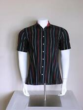 vtg 50s surf GREASER atomic pinstripe rockabilly JERRY LEE LEWIS rat rod shirt M