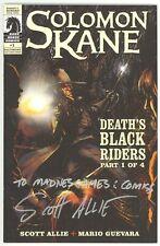 Solomon Kane Death's Black Riders (2009) #1 B&W Ashcan 2009 Baltimore Signed NM