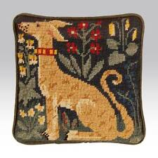 EHRMAN Candace Bahouth Tapestry Needlepoint paper Chart HUNTING RUG LURCHER dog