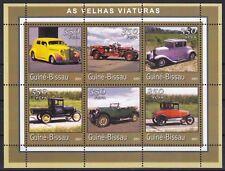 Guinea-Bissau Mi-Nr. 1731 - 1736 KB / Sheet **, Klassische Automobile / Old Cars