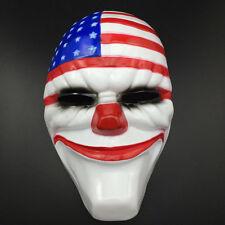 2017 Halloween PAYDAY 2 Dallas Mask Heist Joker Costume Props Cosplay Mask