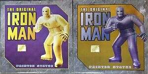 IRON MAN GOLD & GRAY SET! BOTH #14  LIMITED EDITION BOWEN DESIGNS STATUE MARVEL