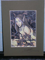 Amy Brown - Shaman - Matted  Petite - SIGNED - RARE
