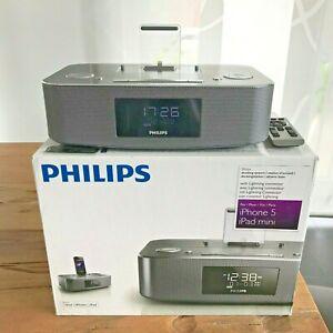 Philips DC295/12 Radiowecker Dockingstation Apple Lightning Iphone Ipod Ipad OVP
