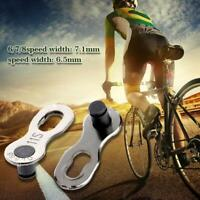 10pcs Missing Link Bike Bicycle Master Chain Link Connector 6/7/8/9/10 Speed