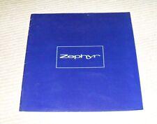 Ford Zephyr Sales Brochure 1960's - RARE