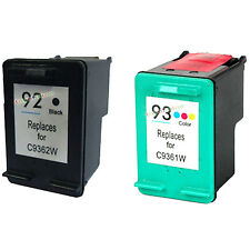 2 Remanufactured Ink for HP 92 93 6310 C3180 C4180 1510