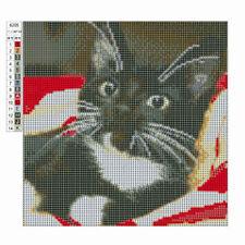 5D Cat Square Full Drill Diamond Embroidery Painting Rhinestone Craft Decoration