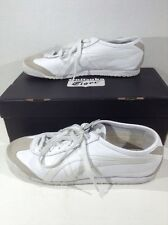 ONITSUKA TIGER Unisex Mexico 66 White Casual Athletic Shoes Size 8.5 / 7 ZL-602