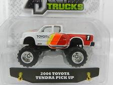 1:64 JADA TOYS *JUST TRUCKS 16* WHITE Racing 2006 Toyota Tundra Pickup *NIP*