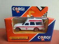 Vintage Corgi Junior Mercedes Benz 220 D Ambulance Collectible Toy Car Boxed New