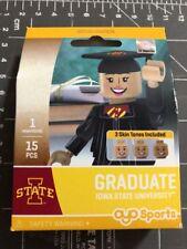 Oyo Sports Minifigure Iowa State University Cyclones Graduate Alumni Lego Female