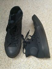 Navy Blue Converse All Stars Chuck Taylor Shoes Size 3.5