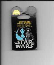 "Disney Trading Pin -- ""SW:The Force Awakens -- Rey with Alliance Emblem"" -- 2015"