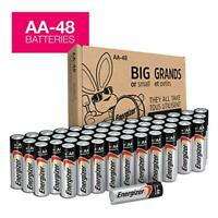 AA Batteries, Double A Battery Max Alkaline (48 Count)
