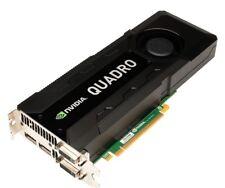 Nvidia Quadro k5000 4 Go GDDR 5 DVI 2xdp 4k HD Carte graphique PCI-E GDDR 5