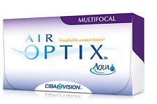 Air Optix Aqua Multifocal 1 box / 6 Stück + Behälter kostenlos