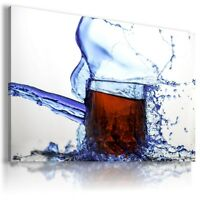 BEER BROWN DRINK Canvas Wall Art Picture Large SIZES DR94