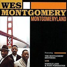 WES MONTGOMERY - MONTGOMERYLAND NEW CD