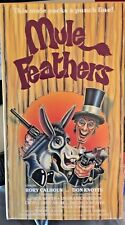 Mule Feathers (VHS) Rare 1975 comedy western w/ Rory Calhoun-voice of Don Knotts