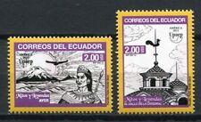 Ecuador 2012 UPAEP Legenden Mythen Turmhahn Kathedrale Berg Kondor 3439-3440 MNH