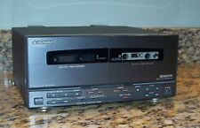 Pioneer CT-P410WR Dual Cassette Tape Deck Compact Shelf Component w/Ribbon Cable
