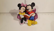 (Lot 523) Walt Disney Collectables - Enesco Musical MINNIE AND MICKEY Sweetheart