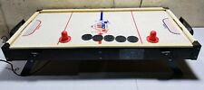 Vintage Carrom FACE OFF Fast Action Wooden Air Hockey Table with 5 Pucks 2 Pads