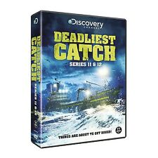 DEADLIEST CATCH COMPLETE SEASONS 11 & 12  DVD BOXSET 11 DISCS NEW & SEALED!