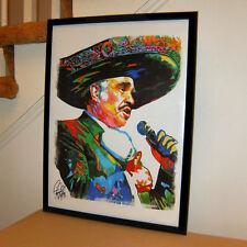 Vicente Fernandez Estos Celos Volver Volver Singer Poster Print Wall Art 18x24