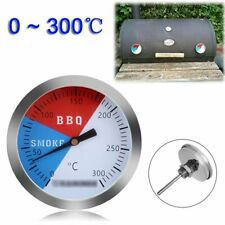 "2"" Grill thermometer Backofen Smoker BBQ Räucherofen Temperatur messen 0 - 300℃"