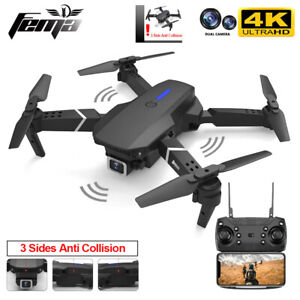 DRONE  WIFI FPV With 4K/ 1080P HD Wide Angle Camera High Hold Mode Foldable