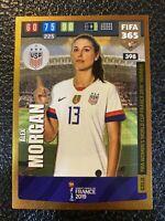 ALEX MORGAN - US WOMENS FIFA 2019 WORLD CUP WINNER - ADRENALYN XL FIFA 365 2020