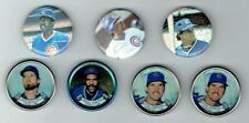 CHICAGO CUBS ~ Lot of Coins and Pins with Hall of Famers