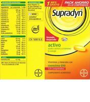 Bayer SUPRADYN Activ Q10 Multi-Vitamina Vitamine 120 Pastillas