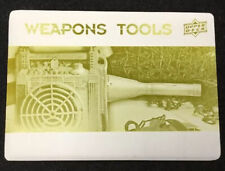 MOTION TRACKER WEAPON TOOLS 2017 Upper Deck Alien Yellow Printing Plate 1/1 #WT7