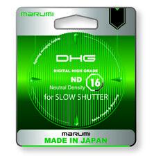 Marumi DHG Neutral Density Filter ND16 52mm   Photography Camera Lens DSLR