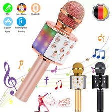 Bluetooth Karaoke Mikrofon Lautsprecher Handmikrofon für Kinder & Erwachsene USB