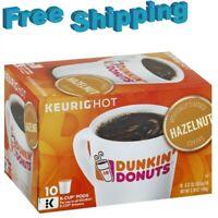 Dunkin Donuts Hazelnut Flavored Coffee Keurig k-cups