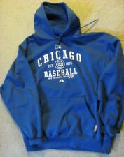 GAME WORN  Chicago Cubs Hoodie Sweatshirt 2011 season.  Worn by Randy Wells