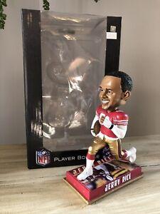 "JERRY RICE San Francisco 49ers NFL ""Legend of the Gridiron"" Bobblehead NIB!"