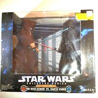 Star Wars Obi-Wan Kenobi Vs Darth Vader Collectible Action Figures Kenner 1997