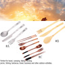 3pcs/set Outdoor Titanium Alloy Cutlery Set Knife Fork Spoon Picnic Cookware Kit