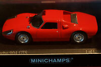 Rare Minichamps Porsche 1:43 Scale 904GTS Red MINT Boxed Ltd Collectors Edition