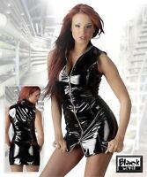 Robe Vinyle Vinyl avec Double Zip Pvc Dress 2 Ways Zipper Fetiche Fashion Mode