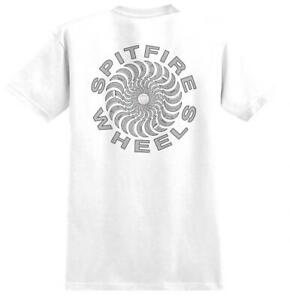 SPITFIRE POOL SERVICE CLASSIC T-SHIRT WHITE/ PINK