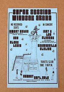 IGGY & The STOOGES Windsor Arena CANADA 1970 CONCERT Handbill PUNK Amboy Dukes
