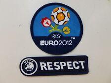 Uefa euro 2012 + respect patch badge aufbügler NEUF